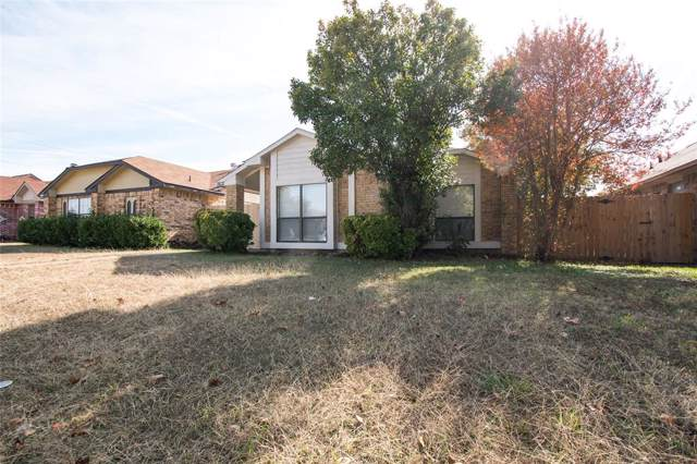 1612 Hackamore Street, Mesquite, TX 75149 (MLS #14224388) :: RE/MAX Town & Country
