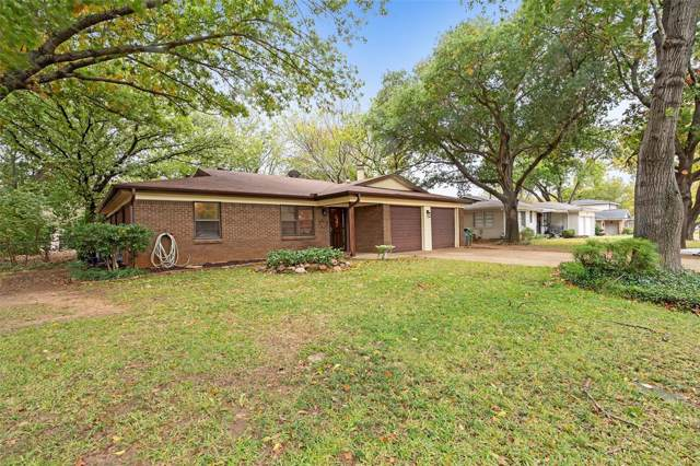 1205 Walker Drive, Hurst, TX 76053 (MLS #14224453) :: RE/MAX Town & Country