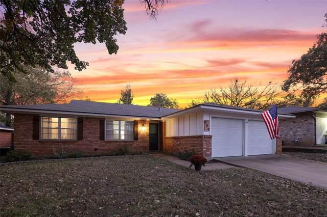 609 Oak Drive, Hurst, TX 76053 (MLS #14224465) :: Vibrant Real Estate