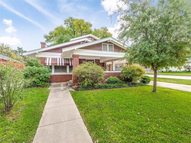 2263 Fairmount Avenue, Fort Worth, TX 76110 (MLS #14224521) :: The Mitchell Group
