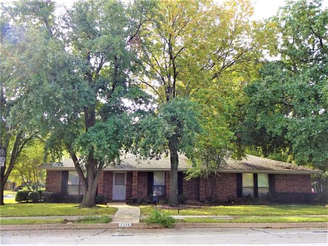 2328 E Windsor Drive, Denton, TX 76209 (MLS #14224556) :: RE/MAX Town & Country