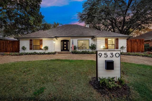 9530 Milltrail Drive, Dallas, TX 75238 (MLS #14224669) :: Hargrove Realty Group