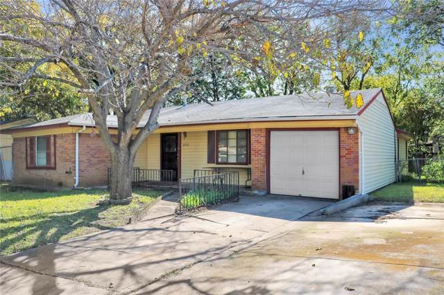 2122 Hedgerow Street, Arlington, TX 76010 (MLS #14224762) :: The Mitchell Group
