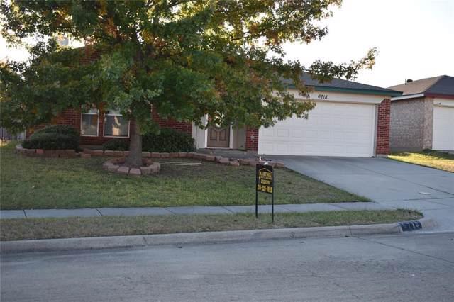 6718 Bighorn Ridge, Arlington, TX 76002 (MLS #14224769) :: RE/MAX Town & Country