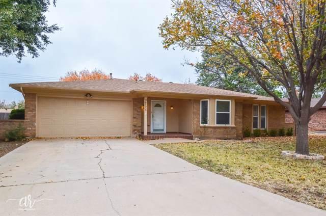 3258 Winterhawk Drive, Abilene, TX 79606 (MLS #14224787) :: The Chad Smith Team