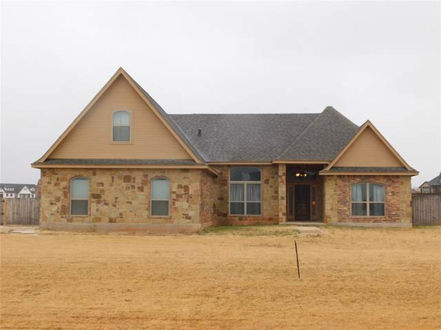 218 Rising Star Drive, Abilene, TX 79606 (MLS #14224811) :: Ann Carr Real Estate