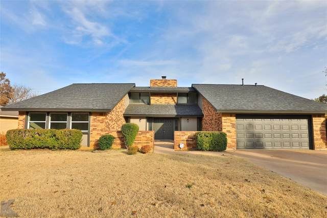 4665 Carrie Ann Lane, Abilene, TX 79606 (MLS #14224845) :: Ann Carr Real Estate