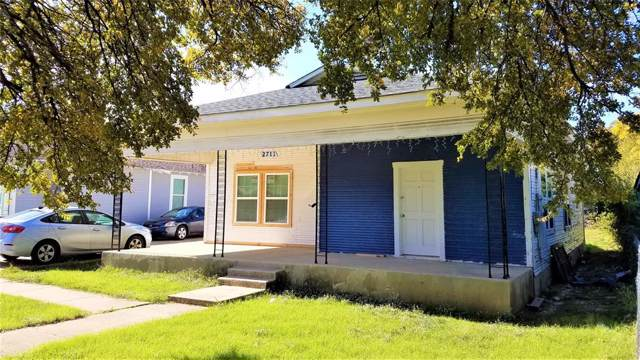 2711 Clymer Street, Dallas, TX 75212 (MLS #14224875) :: RE/MAX Town & Country