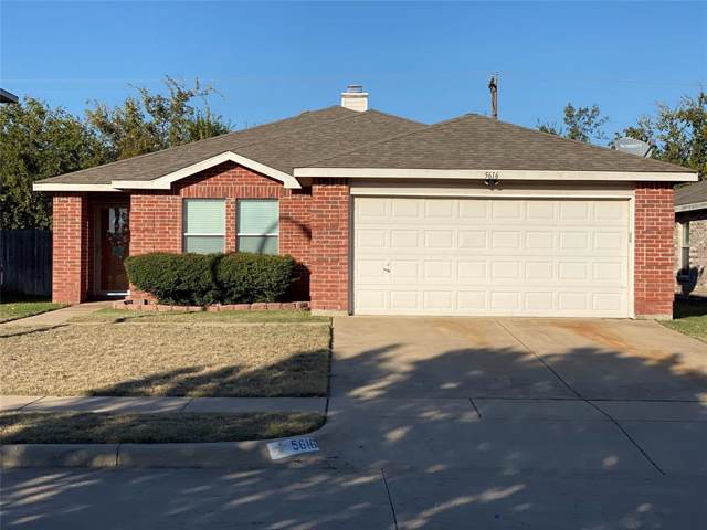 5616 Glenshee Drive, Fort Worth, TX 76135 (MLS #14224982) :: RE/MAX Town & Country