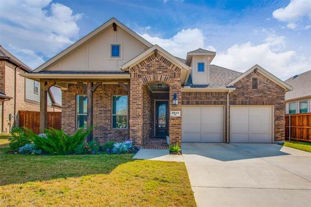 2812 Green Circle Drive, Mansfield, TX 76063 (MLS #14225004) :: RE/MAX Town & Country