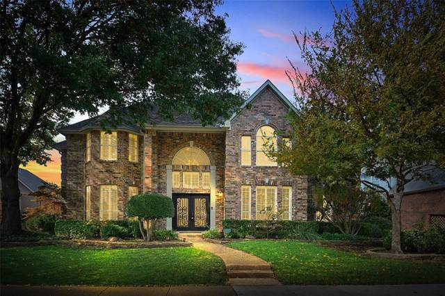 2609 Courtside Lane, Plano, TX 75093 (MLS #14225014) :: RE/MAX Town & Country