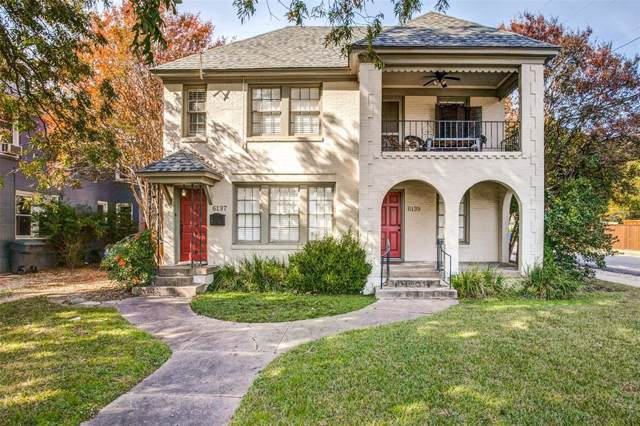 6137 Reiger Avenue, Dallas, TX 75214 (MLS #14225050) :: Tenesha Lusk Realty Group