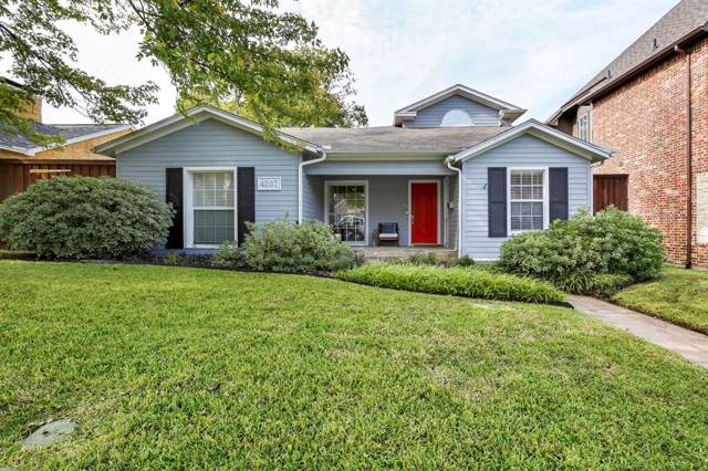 4207 Camden Avenue, Dallas, TX 75206 (MLS #14225073) :: Vibrant Real Estate