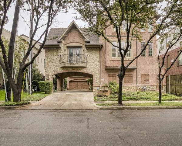 3808 Hawthorne Avenue, Dallas, TX 75219 (MLS #14225106) :: Tenesha Lusk Realty Group