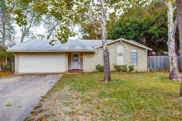 2605 Catalina Way, Irving, TX 75060 (MLS #14225122) :: RE/MAX Town & Country