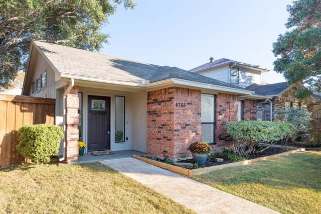 4765 Jasmine Drive, Fort Worth, TX 76137 (MLS #14225199) :: RE/MAX Town & Country