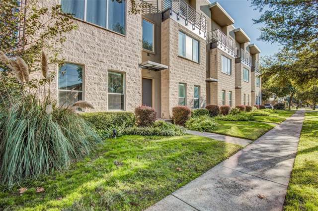 4312 Mckinney Avenue #5, Dallas, TX 75205 (MLS #14225271) :: The Mitchell Group