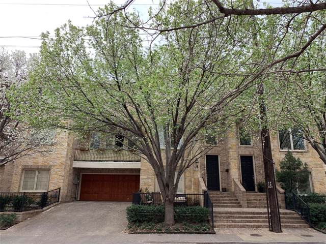 3175 Armstrong Avenue, Dallas, TX 75205 (MLS #14225306) :: Potts Realty Group