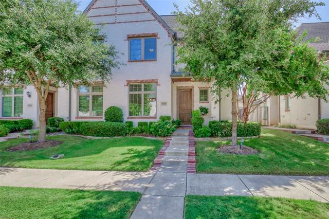 828 Lake Vista Place, Coppell, TX 75019 (MLS #14225359) :: Lynn Wilson with Keller Williams DFW/Southlake