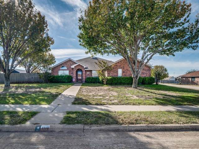 1110 High Point Drive, Midlothian, TX 76065 (MLS #14225373) :: Hargrove Realty Group