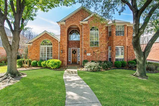 6316 Birchmont Drive, Plano, TX 75093 (MLS #14225422) :: RE/MAX Town & Country