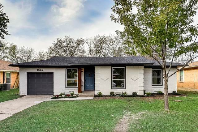 1527 Crestridge Street, Mesquite, TX 75149 (MLS #14225642) :: Real Estate By Design