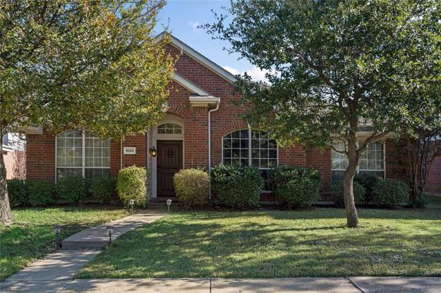 1550 Brandywine Drive, Allen, TX 75002 (MLS #14225686) :: RE/MAX Town & Country