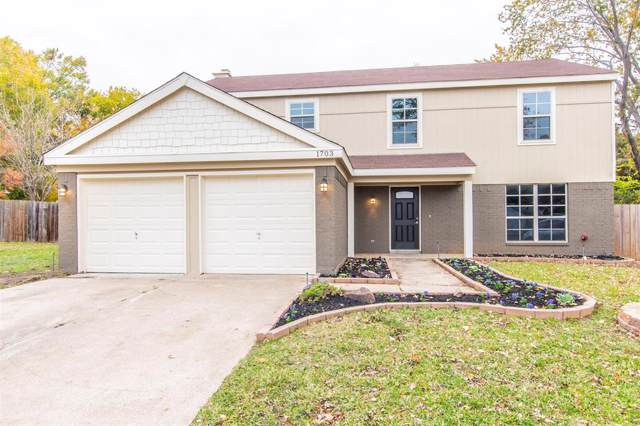 1703 Tangleridge Court, Euless, TX 76039 (MLS #14225827) :: Tenesha Lusk Realty Group