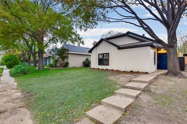 10313 Woodleaf Drive, Dallas, TX 75227 (MLS #14225900) :: RE/MAX Town & Country