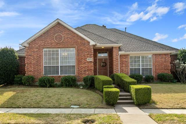 4609 Highlands Drive, Mckinney, TX 75070 (MLS #14225954) :: RE/MAX Town & Country