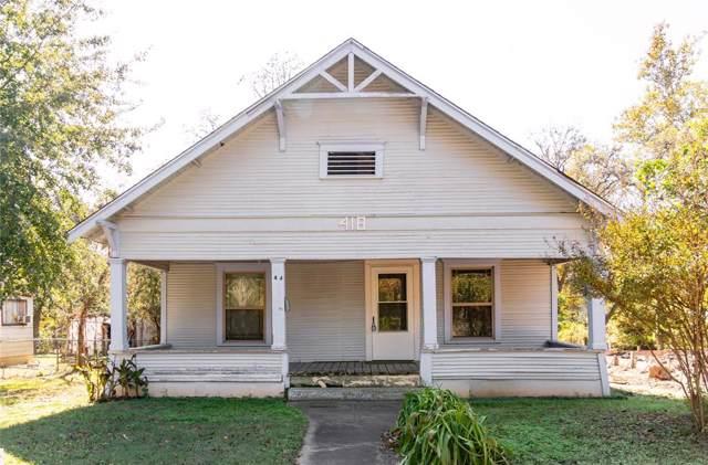 418 Monterey Street, Denison, TX 75020 (MLS #14225973) :: Baldree Home Team