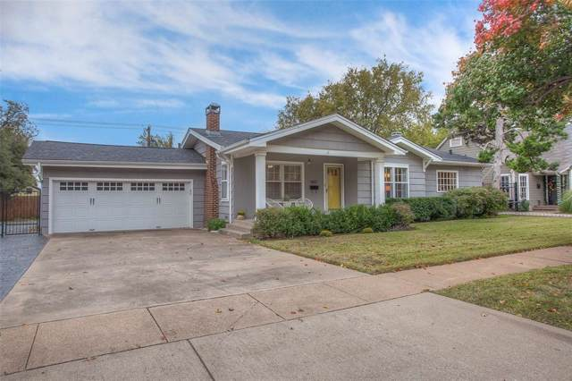 4621 Birchman Avenue, Fort Worth, TX 76107 (MLS #14226115) :: RE/MAX Town & Country