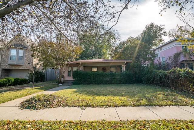 5217 El Campo Avenue, Fort Worth, TX 76107 (MLS #14226146) :: RE/MAX Town & Country