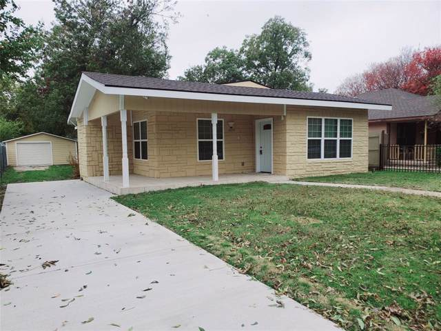 1029 Woodland Avenue, Fort Worth, TX 76110 (MLS #14226161) :: The Hornburg Real Estate Group