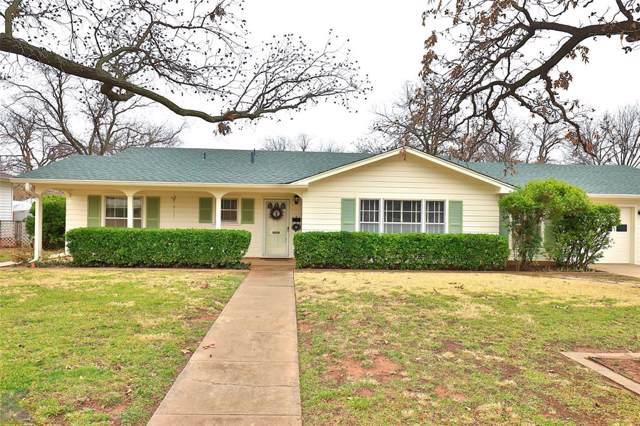 4065 Richmond Street, Abilene, TX 79605 (MLS #14226343) :: North Texas Team | RE/MAX Lifestyle Property