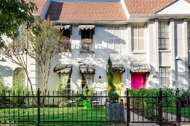 3705 Brown Street #102, Dallas, TX 75219 (MLS #14226352) :: The Hornburg Real Estate Group