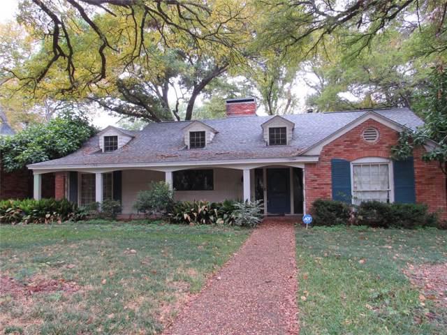 3716 Fox Hollow Street, Fort Worth, TX 76109 (MLS #14226446) :: The Good Home Team