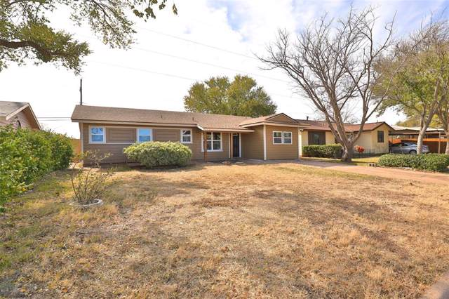 4609 State Street, Abilene, TX 79603 (MLS #14226469) :: Ann Carr Real Estate