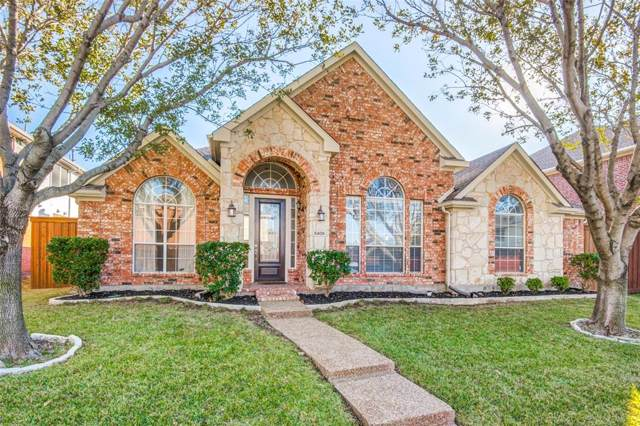 5409 Mountain Valley Drive, The Colony, TX 75056 (MLS #14226516) :: The Kimberly Davis Group