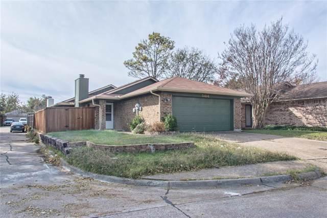 5414 Knollridge Drive, Garland, TX 75043 (MLS #14226615) :: The Good Home Team
