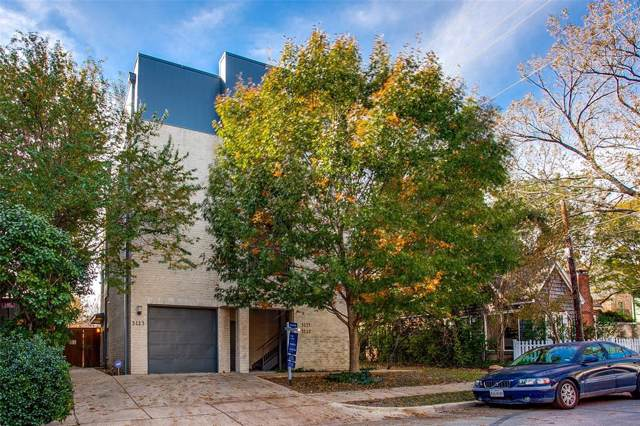 3113 Oliver Avenue #3, Dallas, TX 75205 (MLS #14226617) :: Hargrove Realty Group