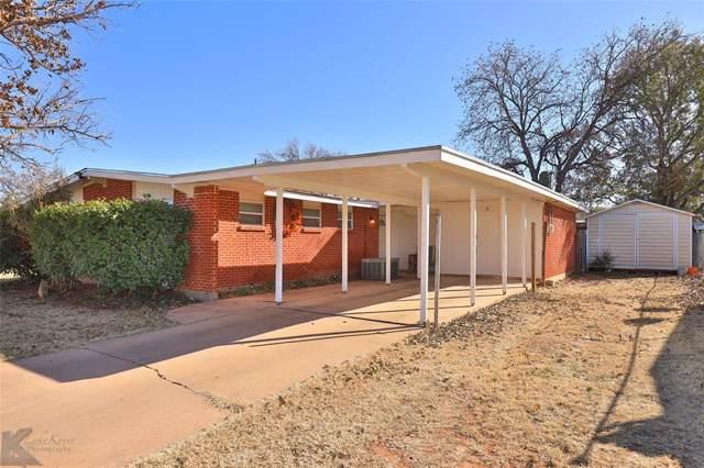 4417 Capitol Avenue, Abilene, TX 79603 (MLS #14226690) :: Ann Carr Real Estate