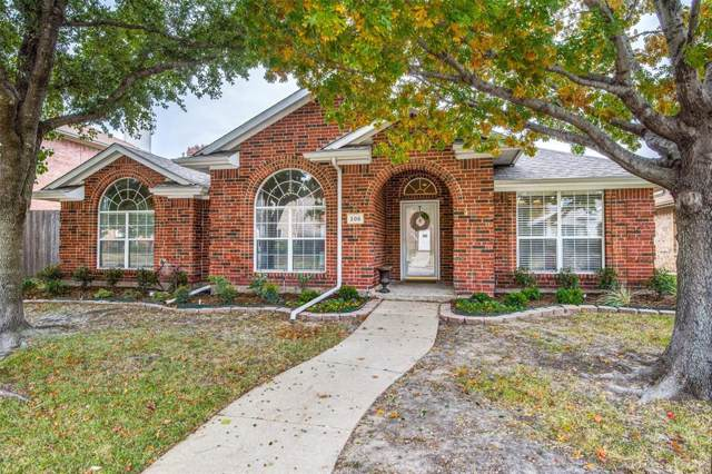 205 Browntown Road, Wylie, TX 75098 (MLS #14226701) :: Vibrant Real Estate