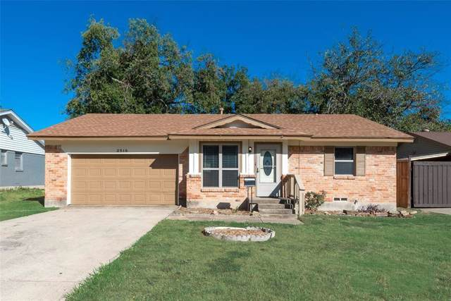 2518 Newcastle Drive, Garland, TX 75041 (MLS #14226752) :: Frankie Arthur Real Estate