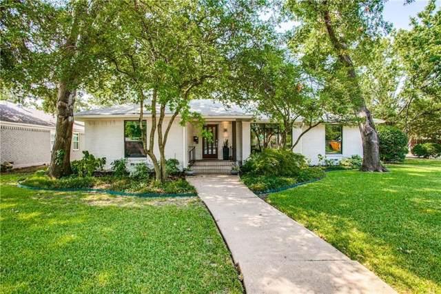 7108 Edgerton Drive, Dallas, TX 75231 (MLS #14226794) :: The Chad Smith Team