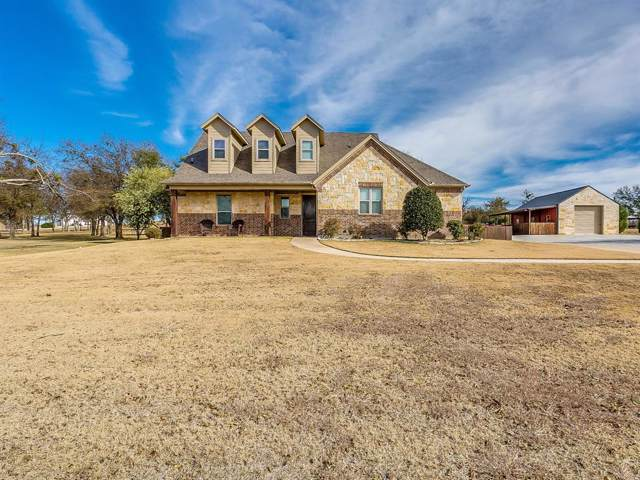 101 Crossing Point Drive, Weatherford, TX 76088 (MLS #14226809) :: Ann Carr Real Estate