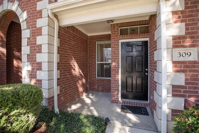 309 Legends Drive, Lewisville, TX 75057 (MLS #14226887) :: Real Estate By Design