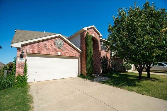 3509 Lasso Road, Fort Worth, TX 76262 (MLS #14226957) :: Frankie Arthur Real Estate