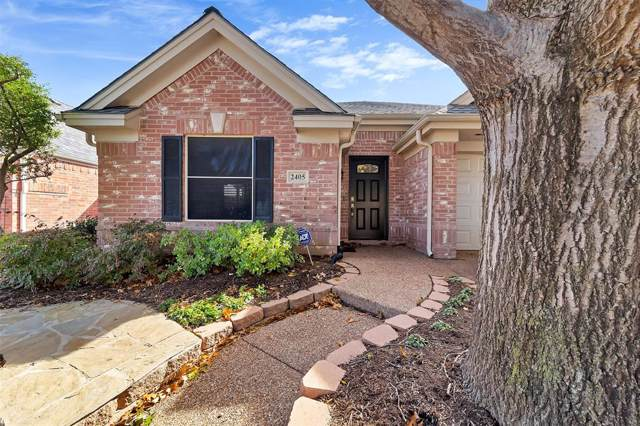 2405 Brookline Trail, Bedford, TX 76021 (MLS #14227056) :: RE/MAX Town & Country