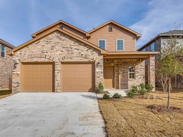 7232 Tin Star Drive, Fort Worth, TX 76179 (MLS #14227062) :: RE/MAX Town & Country